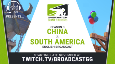 Photo of We are covering China & South America Contenders S3!