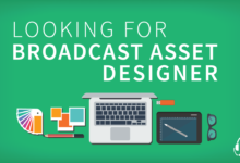 Photo of BroadcastGG looking for a Broadcast Asset Designer!
