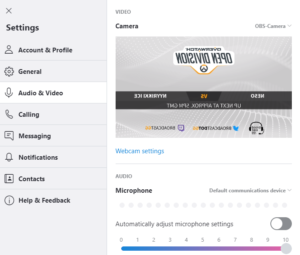 Custom Webcam Output with OBS VirtualCam – Broadcast gg